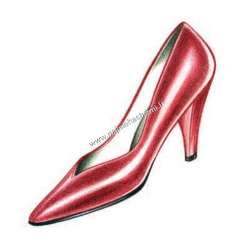 بهبود سایه ها در کفش پاشنه بلند