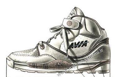 طراحی کفش ورزشی
