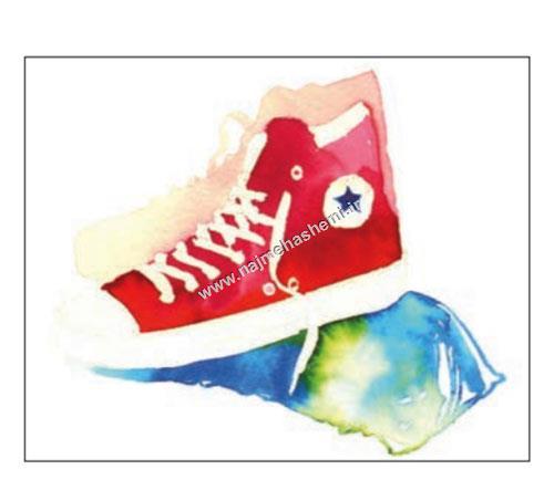 رنگ آمیزی در طراحی کفش ورزشی