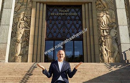 کریستین لوبوتان در دروازه قصر طلایی