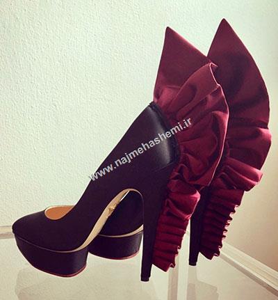 طرح کفش برند شارلوت المپیا