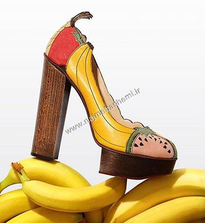 طرح کفش شارلوت المپیا
