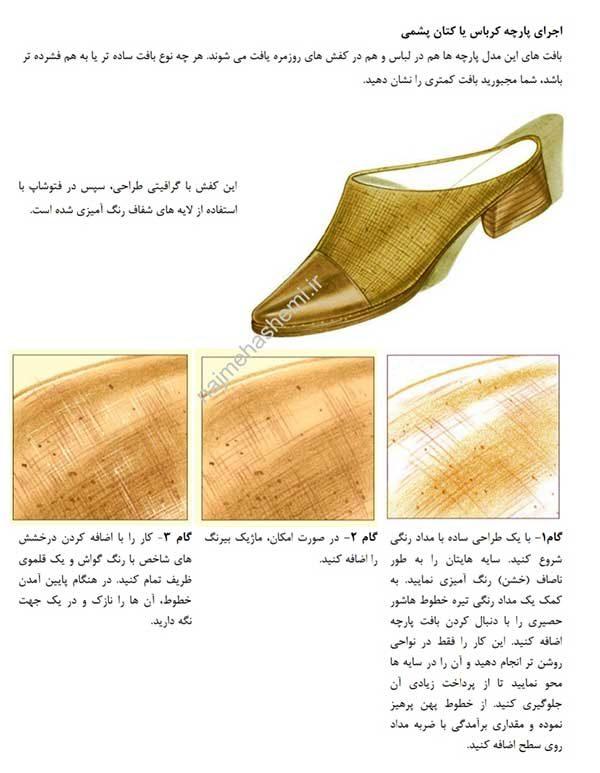تصویرسازی کفش- نمونه