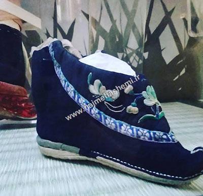 کفش های چینی موزه  کلارک