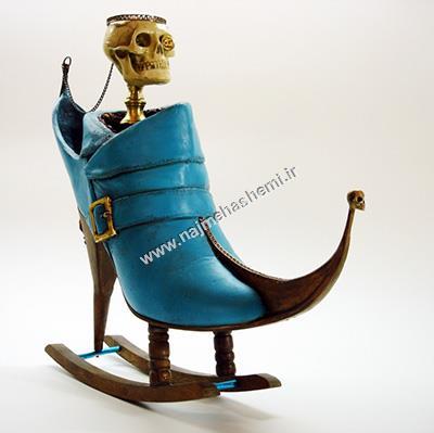 طرح کفش موجود در موزه پرتغال