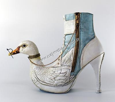 کفش با طراحی حیوان