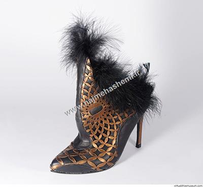 طرح کفش موجود در موزه کفش مجازی