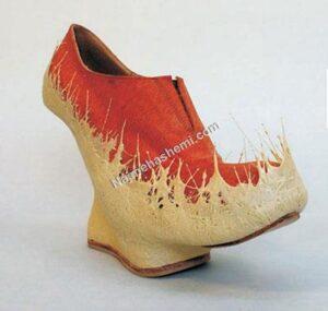 طراحی کفش خاص
